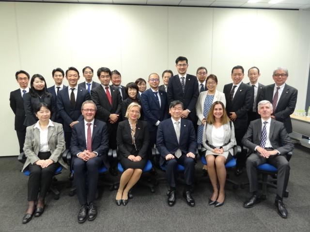 欧州特許庁(EPO)来会 | 日本弁理士会