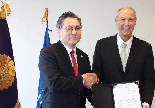 WIPO事務局長・日本弁理士会会長